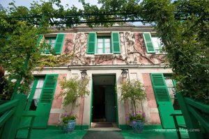 Claude Monet'nin yeşil panjurlu evi