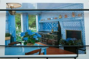 Claude Monet'in mavi mutfağı
