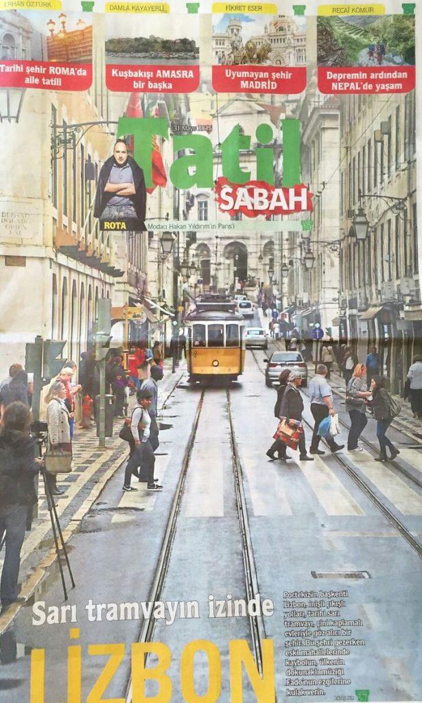 Sabah tatil eki Lizbon