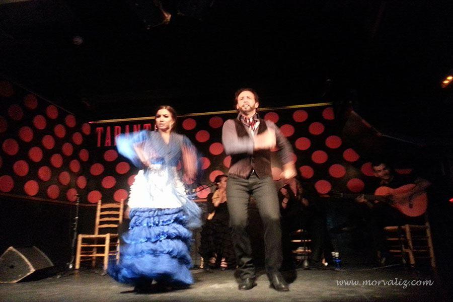 Los Tarantos gösterisi