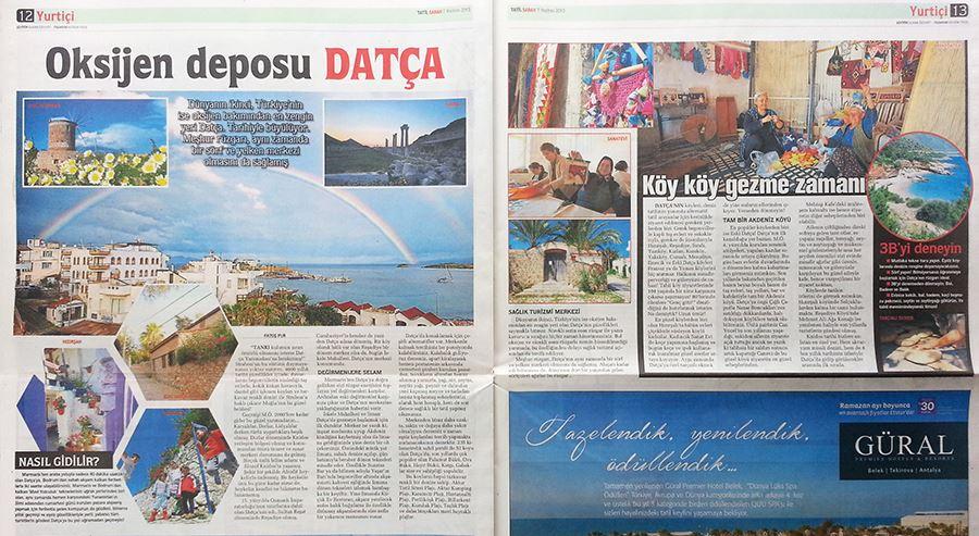Datça Sabah gazetesi