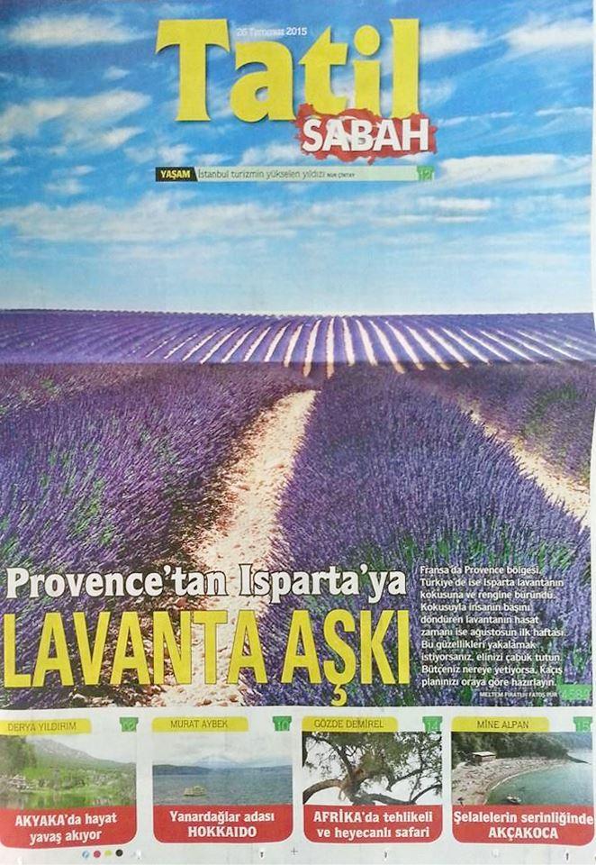 Sabah Gazetesi Tatil Eki ısparta