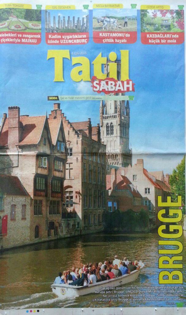 Sabah Gazetesi fatoş Pur Brugge