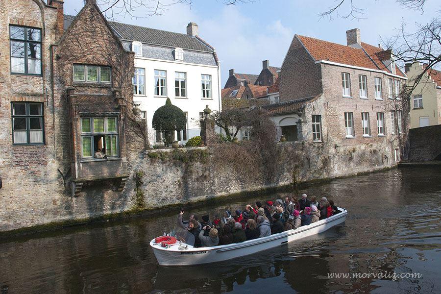 Brugge kanal turu