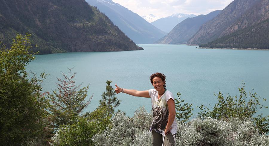 Kanada'da kaldığım sürece muhteşem manzaralara tanıklık ettim.