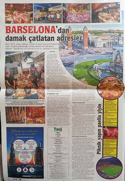 Barselona Sabah Gazetesi