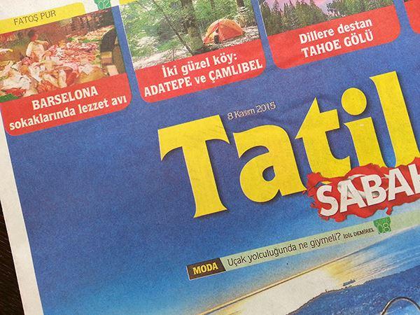 Barsolena Sabah Gazetesi 2