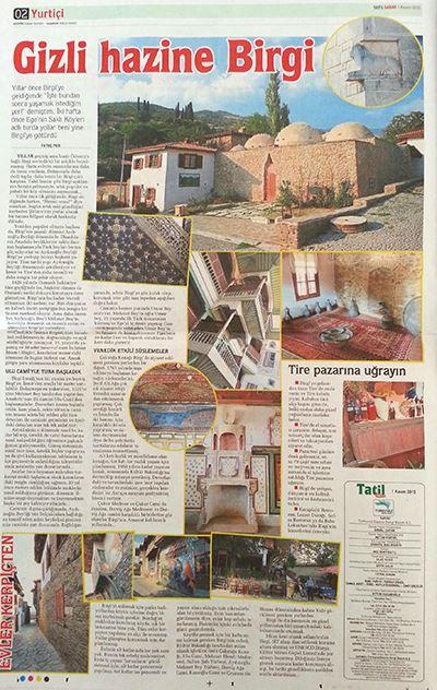 Sabah gazetesi Birgi