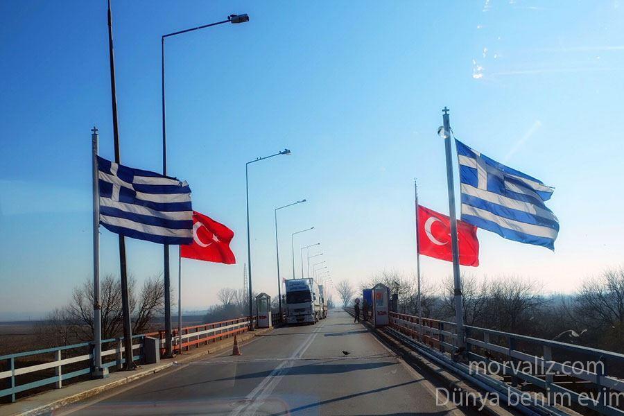 Yunanistan sınır kapısı