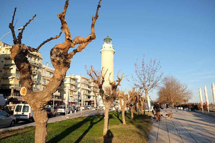 Dedeağaç feneri ve sahil şeridi, Yunanistan