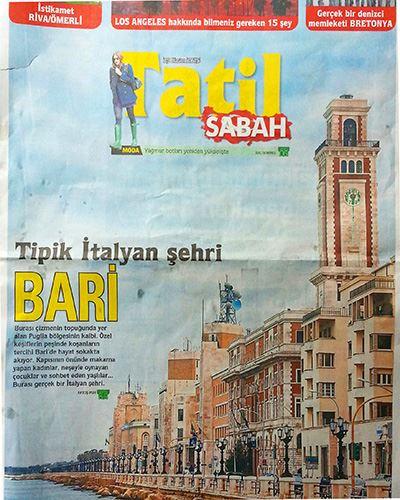 Sabah Gazetesi Bari Fatoş Pur