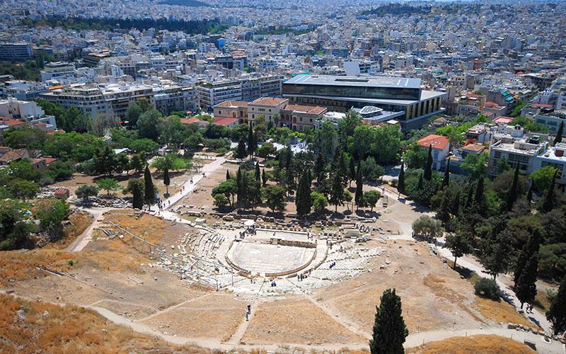 Atina-Akropolis-Antik-Tiyatro
